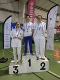 3 Marlychois médaillés au Championnat départemental des Yvelines 2016 à Trappes