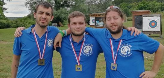 3 marches podium au Championnat Régional Tir 3D - MARCOUSSIS - 20/06/2021